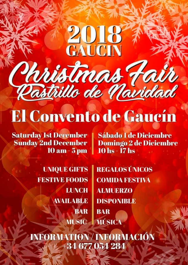 Gaucin Christmas Fair 2018